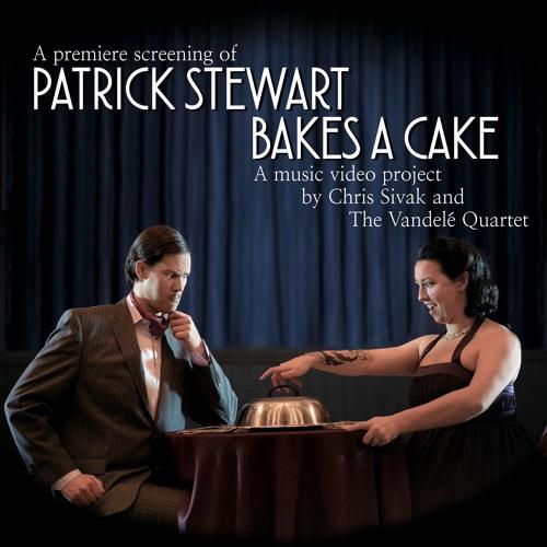 Patrick Stewart Bakes A Cake
