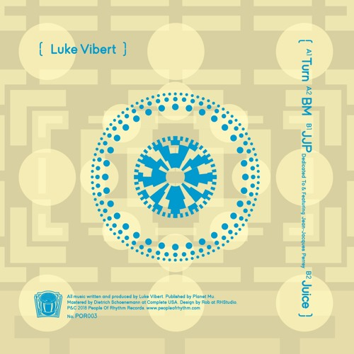 "Luke Vibert: ""JJP"" (Feat. and Dedicated to Jean-Jacques Perrey)(Preview)"