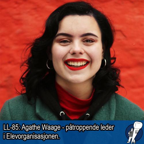LL-85: Agathe Waage, påtroppende leder i Elevorganisasjonen