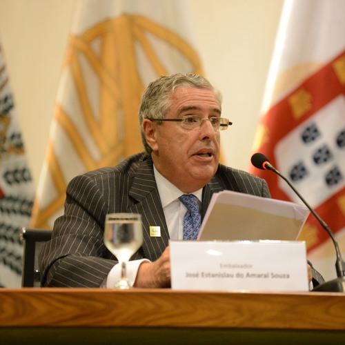 Palavras do diretor do Instituto Rio Branco, embaixador José Estanislau Do Amaral Souza Neto