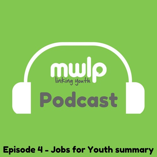 Podcast Episode 4 - Jobs for Youth Summary