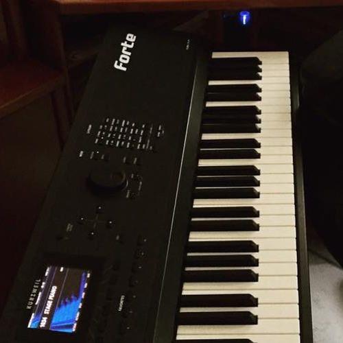 Modern Piano Kurzweil Forte