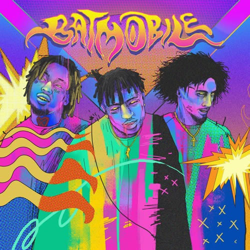 Batmobile Ft. Ski Mask The Slump God & Wifisfuneral (Prod. RONNY J)