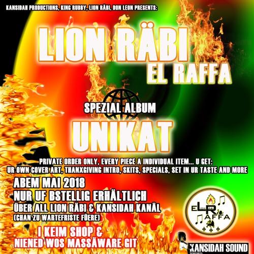 """Lion Räbi - Unikat Album snippet """"Ueli 2.0"""""""