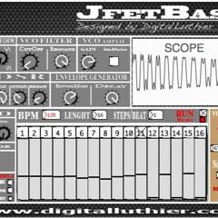 JfetBass Synth + Roland TR-8 Improvisacion JAM