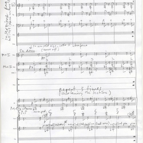 Capriccio Ostico - Lemanic Modern Ensemble, W. Blank - live, Geneva 16.3.18