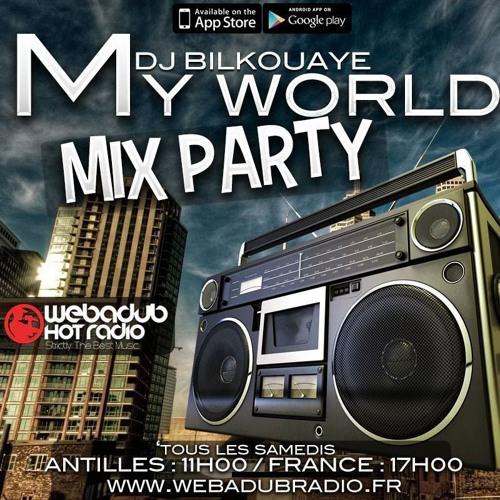 Dj Bilkouaye My World mix party Dj invité Picsou (matinik