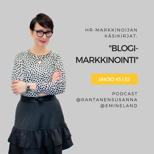Podcastissa esittelyssä: Blogimarkkinointi-kirja