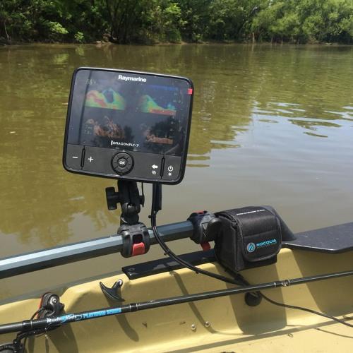 Kayak Fishing And Raymarine Fish Finders  QA