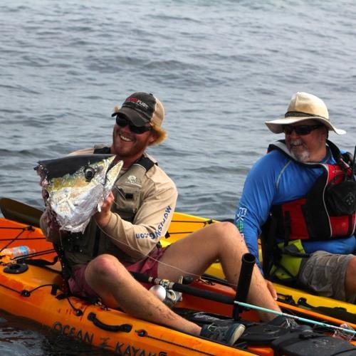 Amanda from Shark Shield joins The Kayak Fishing Show Live with Jim Sammons