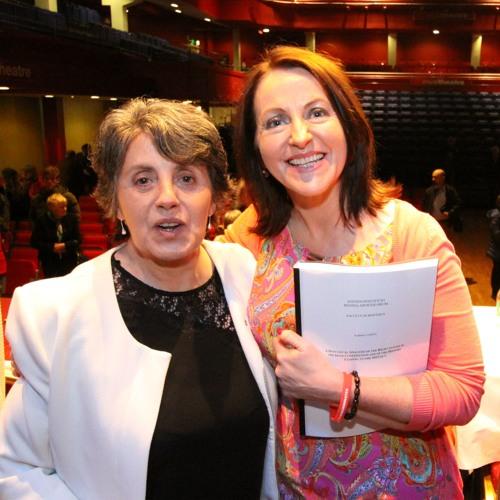 Eilin Glynn, Adrian O'Brien and Niamh Uí Bhriain on Morning Ireland