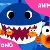 اغنية القرش للاطفال باللغة العربية baby shark arabic