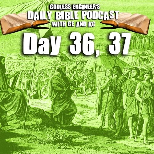 Numbering the Israelites Population And Chores || GE's Daily Bible Podcast, Day 36, 37