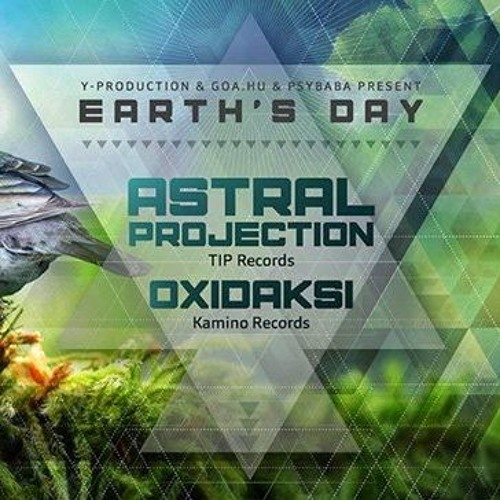 Pollux @ Y-Production & Goa.hu & Psybaba present: Earth's Day - Fractal Vortex stage-(2018.04.21)
