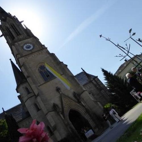Sehen, hören, berühren: Touchscreen-Terminal in der Herz-Jesu-Kirche in Bad Kissingen
