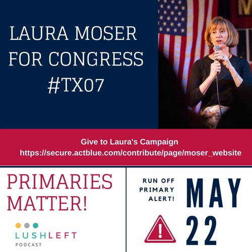 Laura Moser for Congress  #TX07 - Red Zone Run Off Interview!