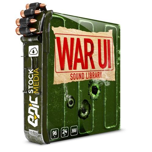 War UI - User Interface Sound Effects Library