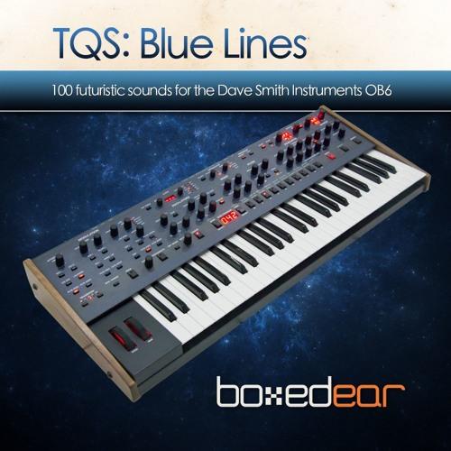 Boxed Ear TQS Blue Lines DSI OB6 sound bank demo