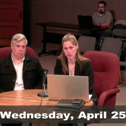 Greenfield Ways & Means Budget Meeting April 25, 2018