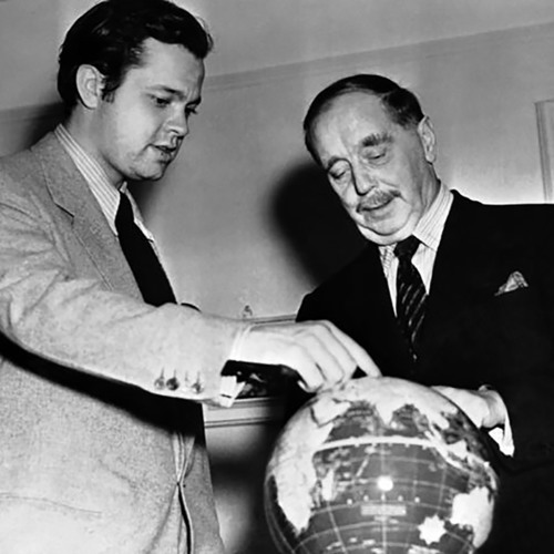 Orson Welles and H.G. Wells Discussing Impending War—10.28.1940