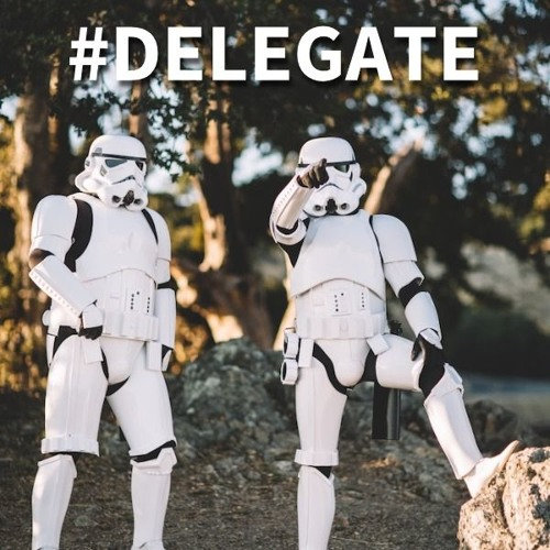Delegate or Stay Small