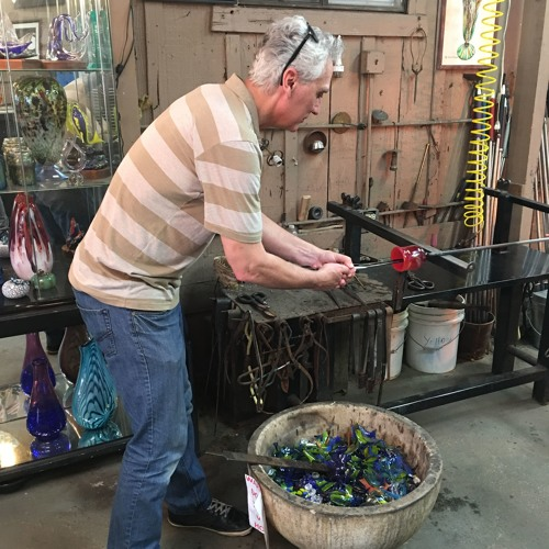 Ep#7--(Santa Barbara, California)Blowing Glass Without Blowing Your Business
