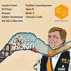 Chester Code & Alex Pi - RULEX Mix @ Club LNR & MVDZ presents KINGSDAY 2018 - Alley Party