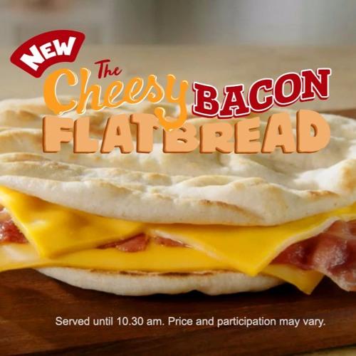 McDonalds Cheesy Bacon Flatbread 'Lifts'