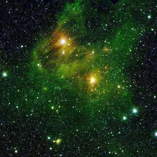 Within The Interstellar Fog Trail
