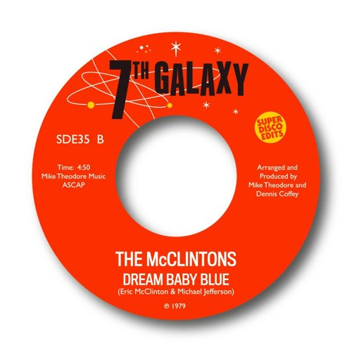 The Mcclintons Dream Baby Blue unissued soul 1978
