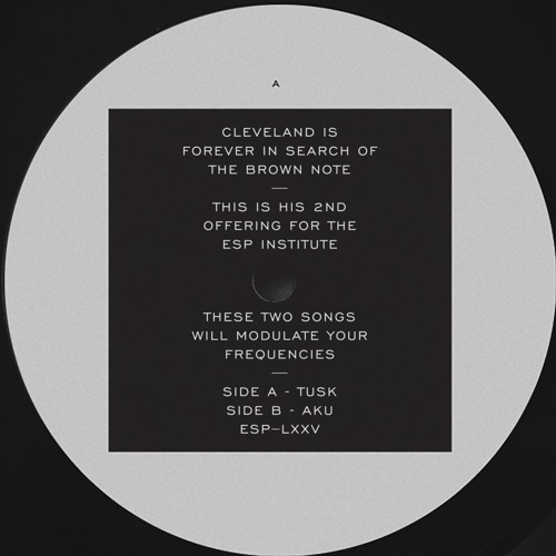 [ESP075] CLEVELAND - A1 - Tusk
