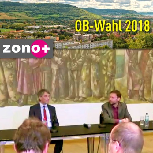 """""""Unterwegs in Jena"""":  Pressekonferenz des amtierenden und des gewählten Oberbürgermeisters"""