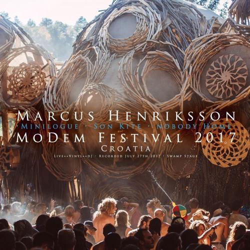Marcus Henriksson aka Minilogue • MoDem Festival 2017