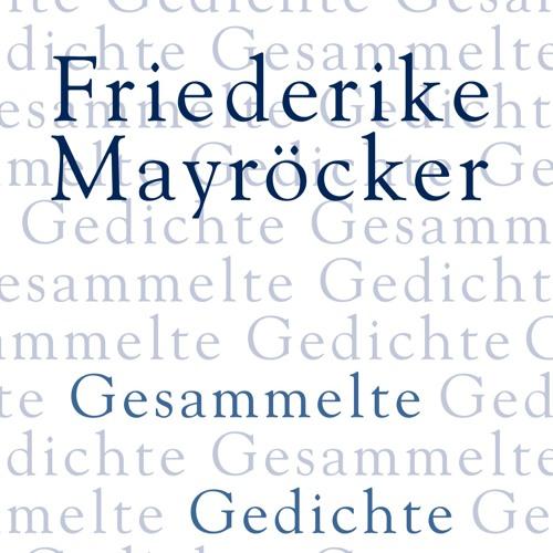 Friederike Mayröcker liest: DIES DIES DIES DIESES ENTZÜCKEN ICH KLEBE AN DIESER ERDE