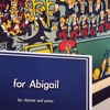 for Abigail for clarinet and piano (2015)