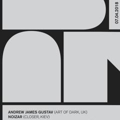 BLANK Podcast 001: Andrew James Gustav & Noizar