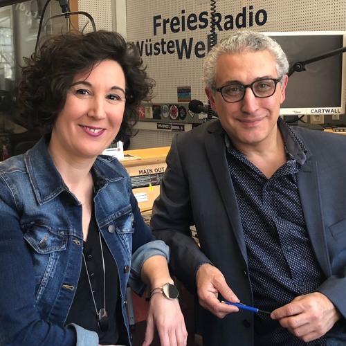 """""""Jazztalk"""" mit Jazz à la flute (Isabelle Bodenseh) im Radio Wüste Welle"""