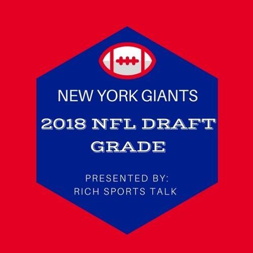 New York Giants 2018 NFL Draft Grade
