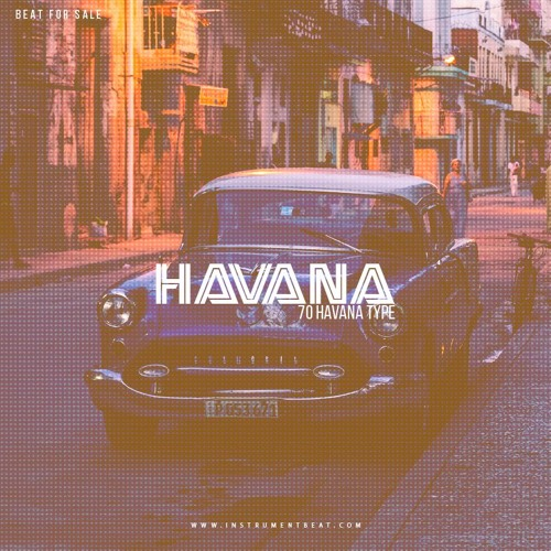 Instrumental 70 Havana Type - Beat For Sale - www