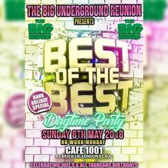 Big Underground Reunion Promo Mix1 DJ STATIX In Session Best of The Best