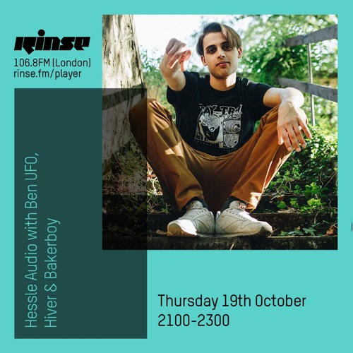 Hessle Audio with Samuele Pagliai - Rinse FM London (October 19, 2017)