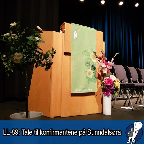 LL-89: Tale til konfirmantene på Sunndalsøra