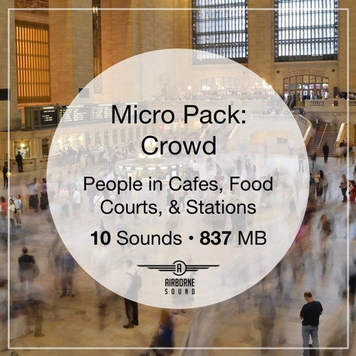 Micro Pack Crowds Sound Library Audio Preview Demo Montage