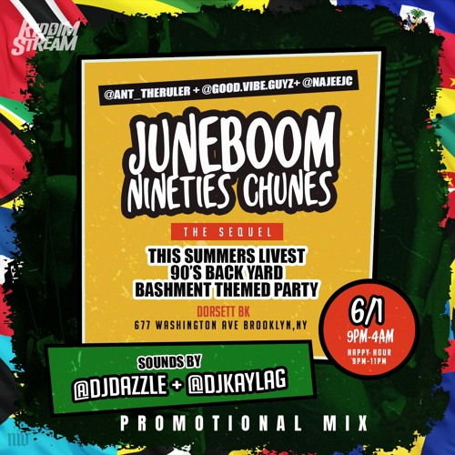 "DJ Kayla G - #JUNEBOOM90sCHUNES ""The Sequel"" (Dancehall & Soca PROMO Mix)"