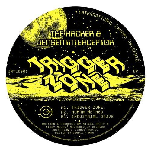 THE HACKER & JENSEN INTERCEPTOR - TRIGGER ZONE