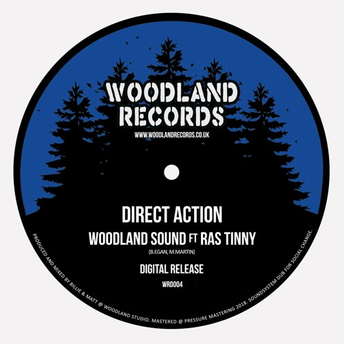 WRD004 - WOODLAND SOUND - Direct Action (ft Ras Tinny) *SAMPLE*