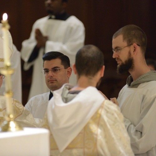 Br Gabriel CFR to be ordained a Deacon!