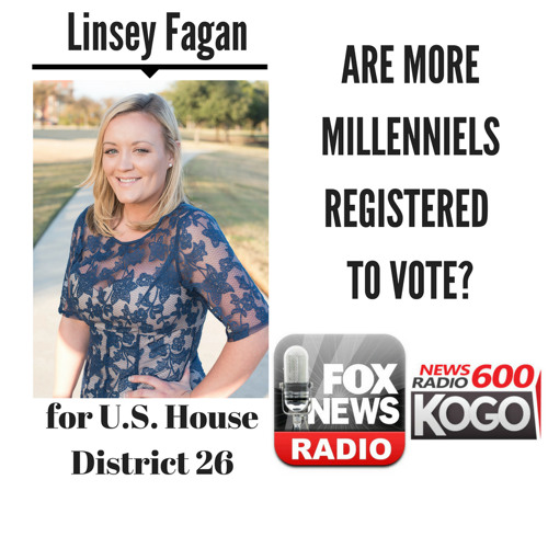 Are More Millennials Registered to Vote? || Linsey Fagan discusses LIVE (4/30/18)