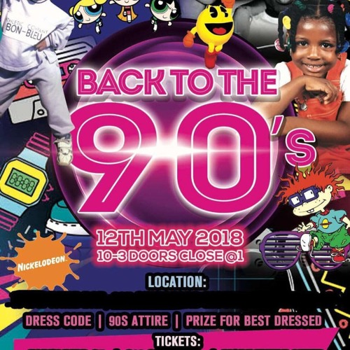 Deejay Swingz - Back to The 90s Garage Promo Mix