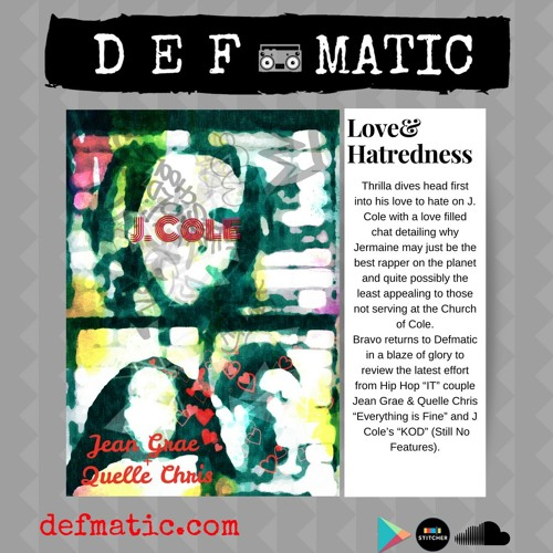 324 - Defmatic - LoveandHatredness